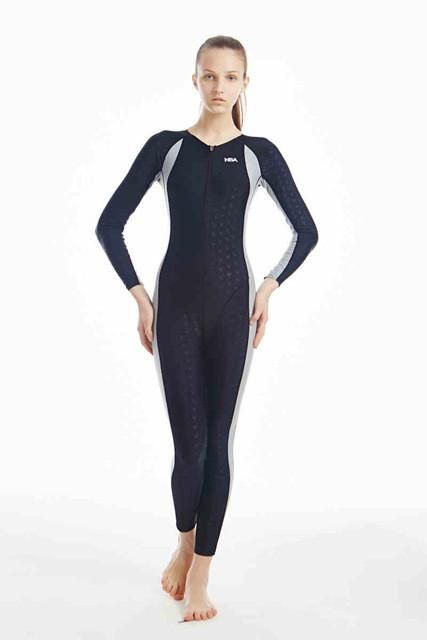NSA unique design full body lycra swimwear sharkskin waterproof mens bodysuit swimming wetsuits diving suit