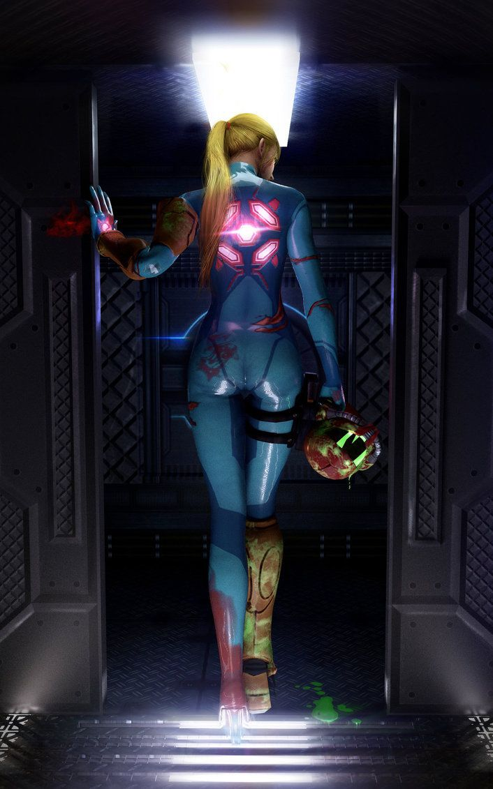 Samus Aran - I really thought this was a cosplay! But it's a 3d Model.