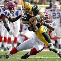 Aaron Rodgers and the Green Bay Packers come to Buffalo to take on the Bills.  The Bills had an impressive showing against Peyton Manning, holding him to under-200 yards and forcing two interceptions, but will that formula continue for the Bills defense this week?  Some interesting stats are out there for fans who think that the Bills are in for another loss against the Packers, as Green Bay is 3-3 on the road this season.