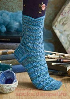 Вязаные носки «Fishnet»