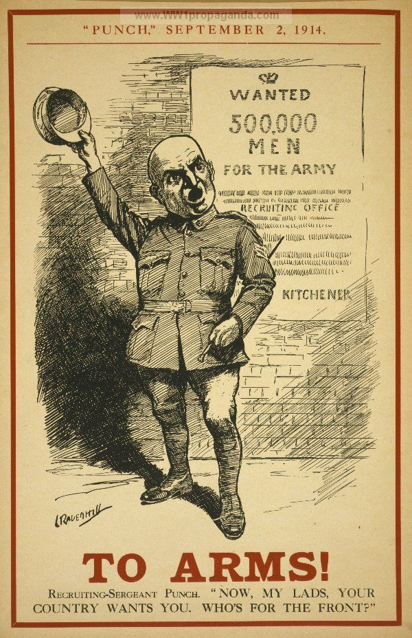 Examples of Propaganda from WW1 | British WW1 Propaganda Posters