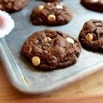 Chocolate Chocolate White Chocolate Chip Cookies | The Pioneer Woman Cooks | Ree Drummond
