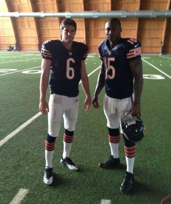 Jay Cutler And Brandon Marshall // Chicago Bears