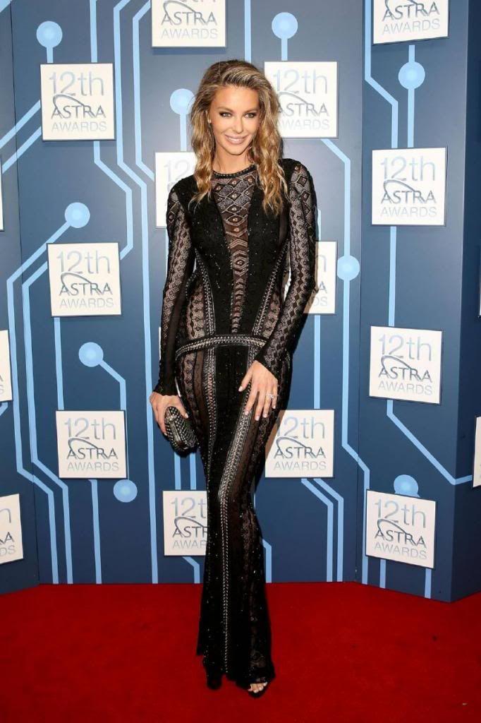 Jennifer Hawkins - 12th Astra Awards in Sydney