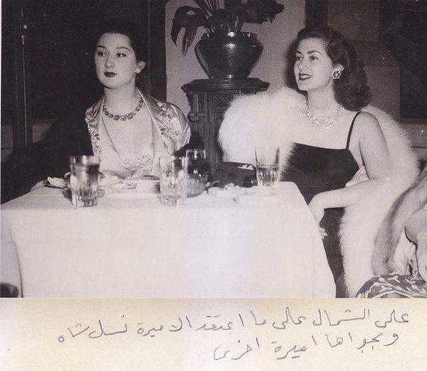Son Halife Abdülmecit'in torunları Hanzade ve Neslişah Hanımlar