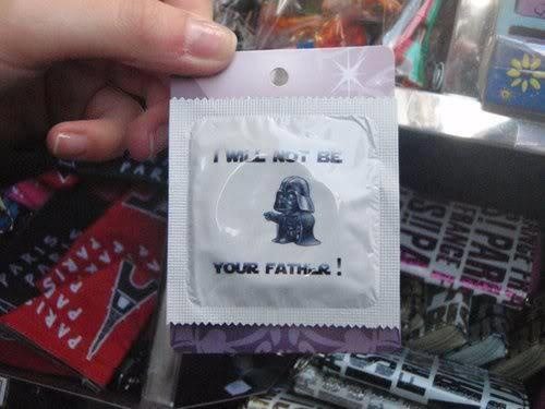 May my force not be with you!