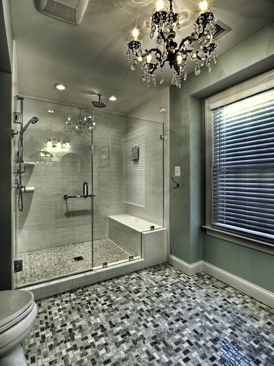 Bathroom Pony Wall Design, Pictures, Remodel, Decor and Ideas - page 32