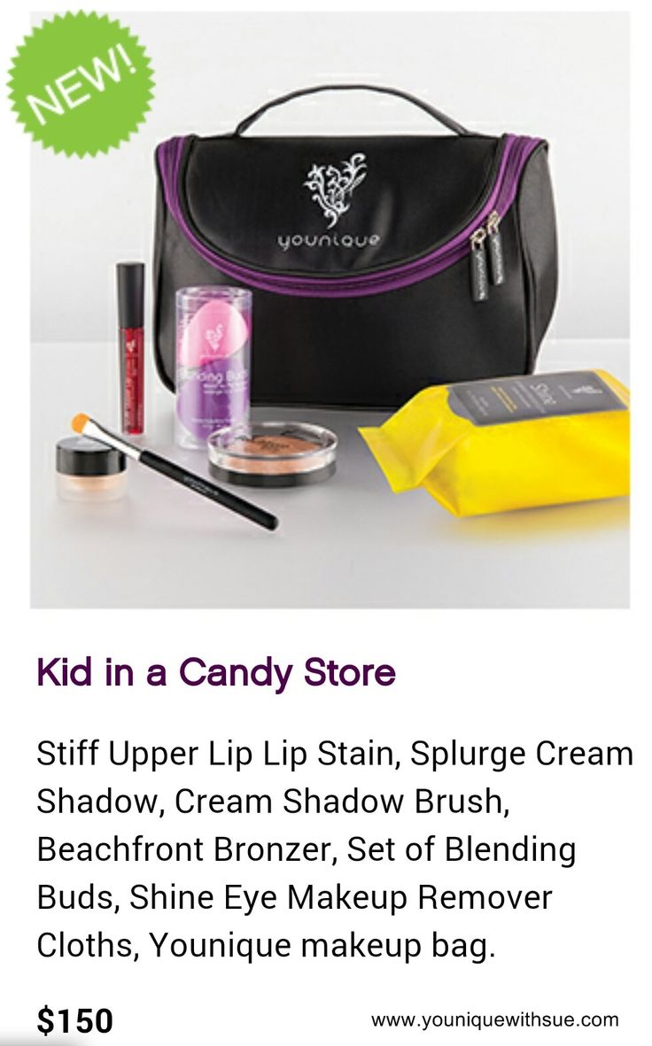Kid in a Candy Store has all the new products in it. https://www.youniqueproducts.com/suzannepringle/products/collections