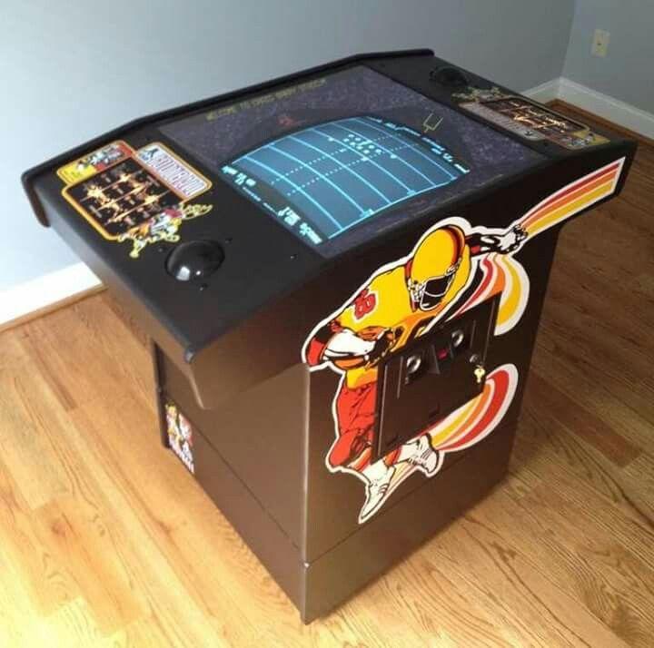 Atari football arcade game muscle cars pinterest