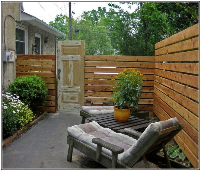 Good Looking Cheap Wood Fence Ideas