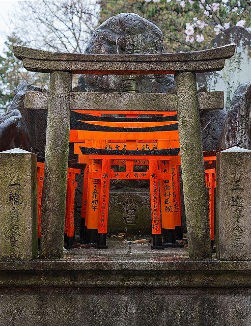 伏見稲荷大社 京都 日本 Fushimi Shrine, Kyoto, Japan