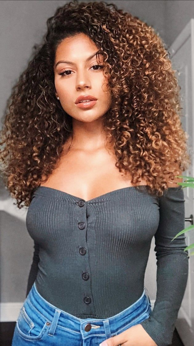 Another Beautiful Black Woman Dark Girls In 2019 Hair Curly