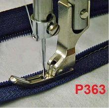 3 ШТ. Промышленные швейные машины швейные машины прижимной лапки платформа прижимной лапка для молнии зубочисткой тонкие лапки стали P363(China (Mainland))