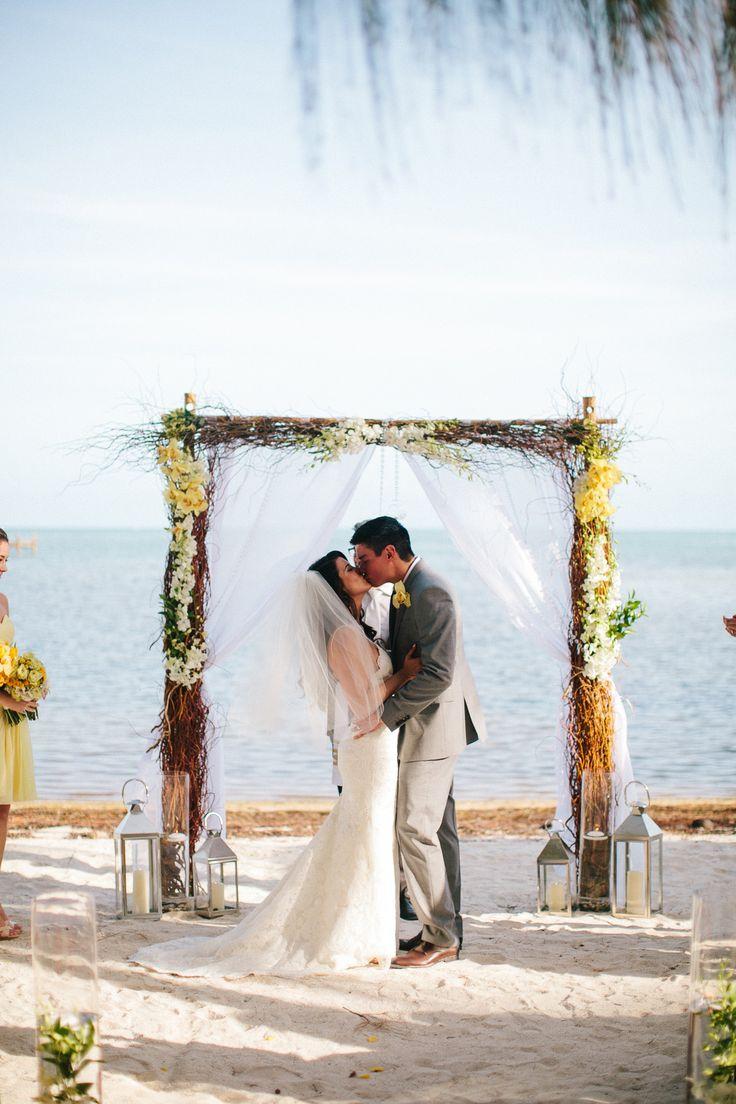 beach weddings in orange county ca%0A Bright Keys Beach Wedding  Monica  u     Danny at Castaway u    s Delight
