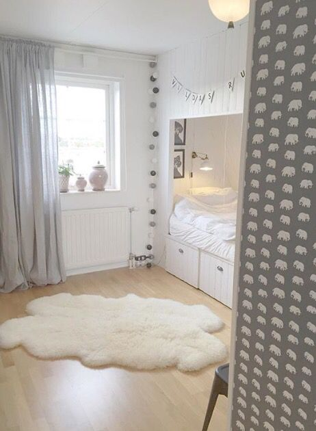 Inspo for Amanda's built-in-bed.