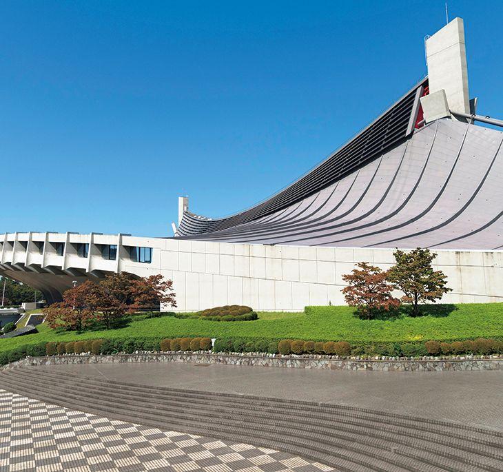 012 Yoyogi National Stadium (1964), by Kenzo Tange