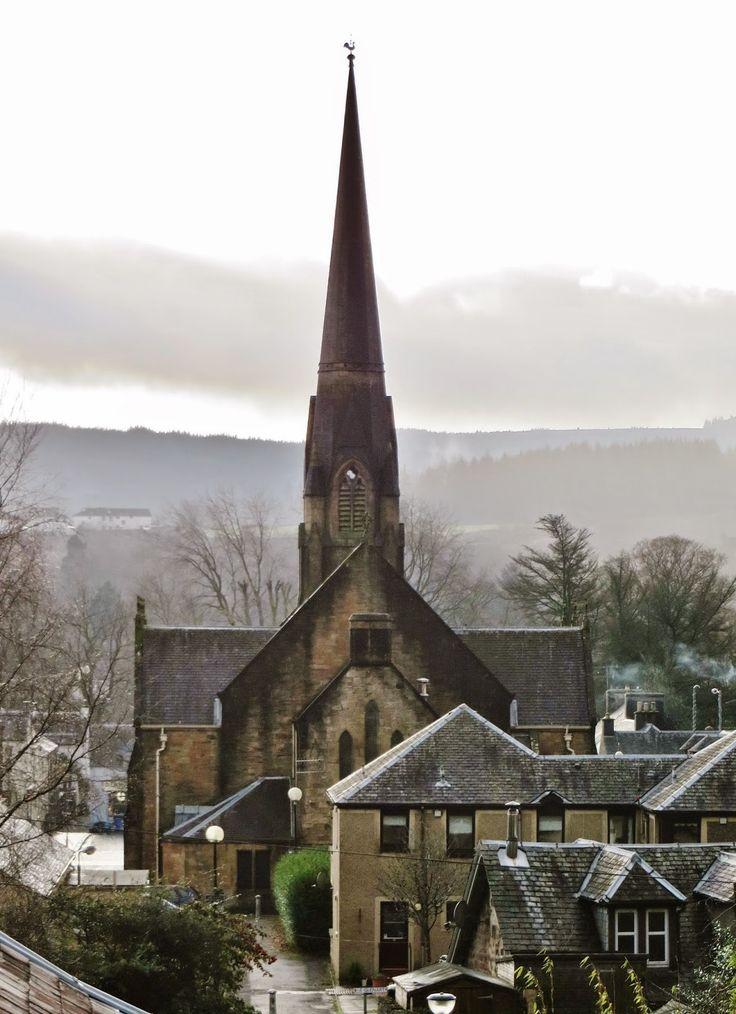 Callander, Perthshire, Scotland, Highlands, Hairy Coo Tour, Travel, Bucket List