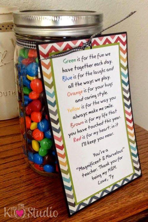 Teacher Poem for Mason Jar by K (heart) Studio
