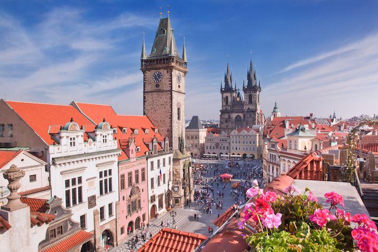 Prag - ett av 7 romantiska resmål i vår