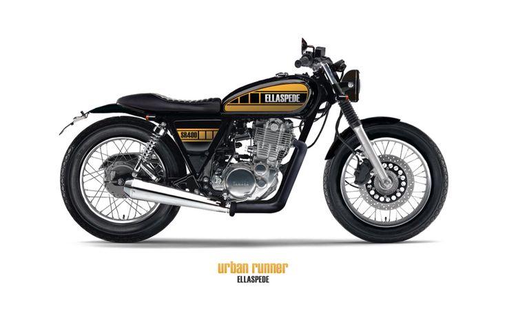 Esllaspede Uban Runner Yamaha sr 400