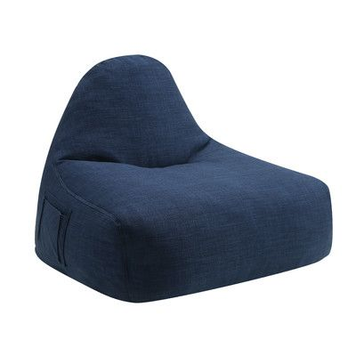 Coaster NJ 08810 2516 Lazy Life Bean Bag Chair Upholstery Navy