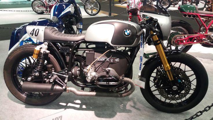 BMW #intermot #caferacercult #crc #bmw