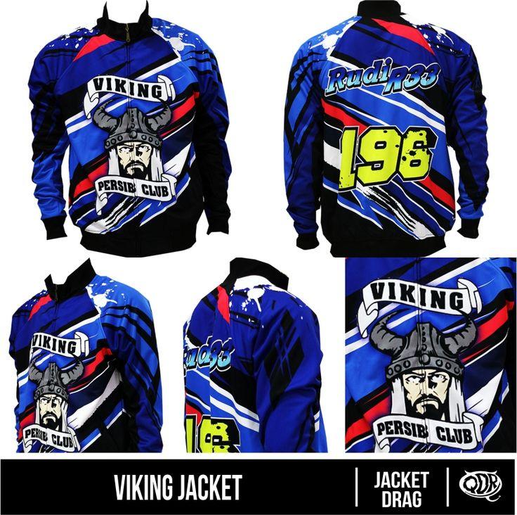Jaket Viking Persib Bahan: Lotto printing: sublimasi untuk pemesanan: BBM D5443117 Qdr online shop WA/LINE 081222970120