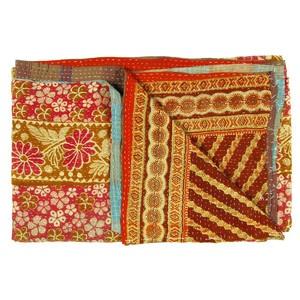 Vintage Sari Throw Margaon now featured on Fab.
