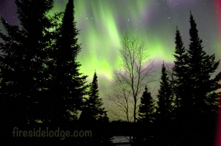 A spectacular Northern Lights show at www.firesidelodge.com