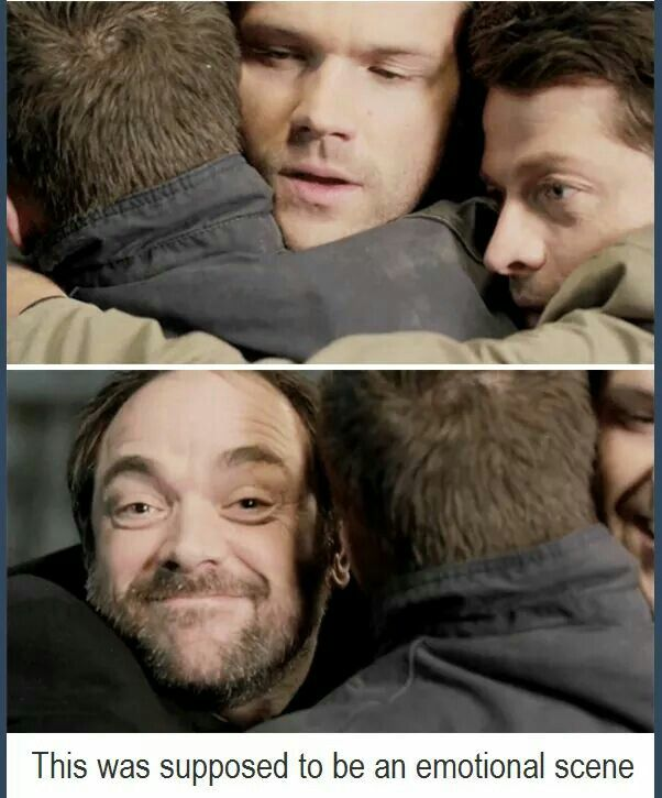 LMAO ^_^ #Supernatural Season 10 Gag Reel || Jensen Ackles || Jared Padalecki || Misha Collins || Mark Sheppard
