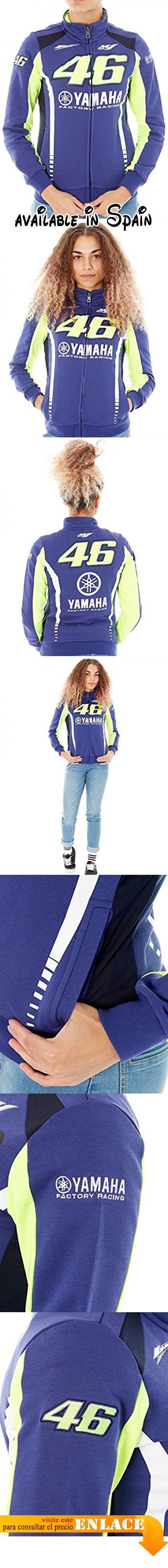 B071ZQYPLM : Jersey Con Cremallera Para Mujer Valentino Rossi Yamaha Racing Line Azul (Xs  Azul).