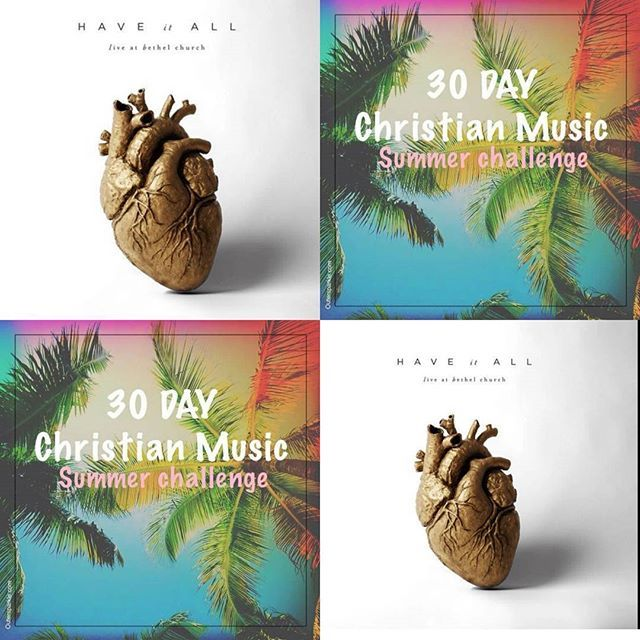 """#30DayChristianMusicChallenge @bethelmusic. Pop on over to the blog to watch """"faithful  to the end"""". LINK IN BIO #30daychallenge #christianmusic #outersparkle #SummerChallenge #BETHELMUSIC #Happy4thofJuly"""