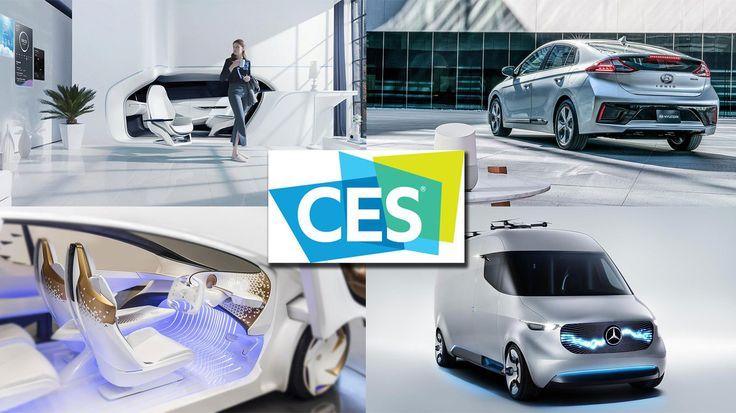 Cool car tech at CES 2017