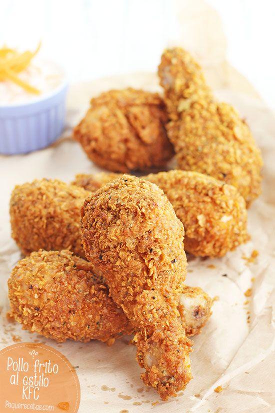 Pollo frito al estilo Kentucky, la receta de pollo KFC