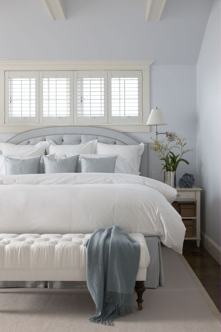 redecorating bedroom%0A Windows above bed