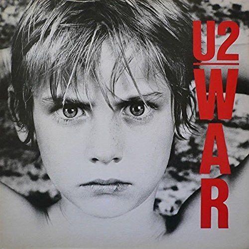 """U2- WAR- 12"""" VINYL LP-1983 ISLAND RECORDS"""