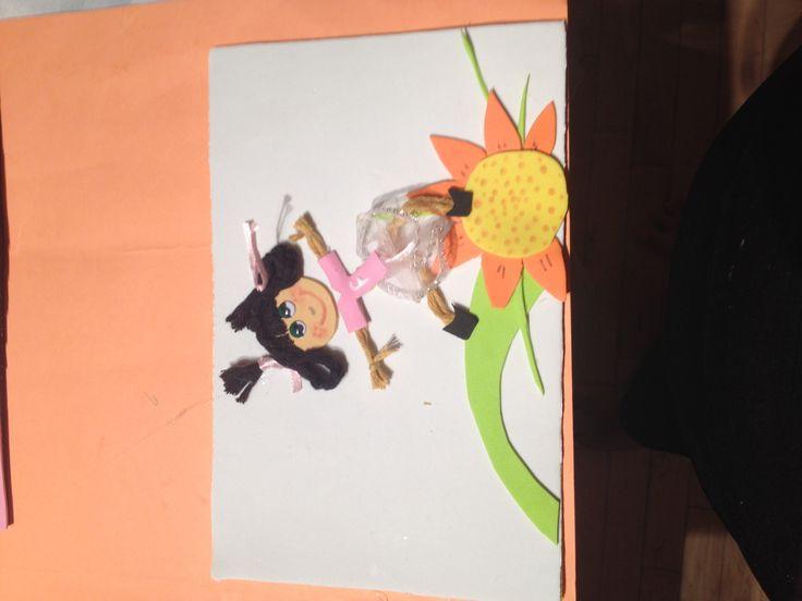 Baila sobre una flor
