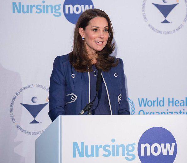 The Duchess of Cambridge visited St Thomas' Hospital