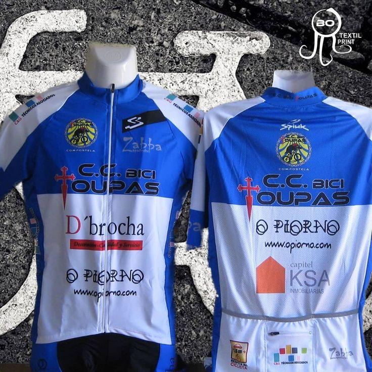 Maillots manga corta C.C. Bici Toupas Compostela.  www.botextilprint.es    #botextilprint #serigrafia #bordado #sublimacion #coruña  #diseño  #bicycle #bicicleta #maillot  #bici #btt #ciclismo #cycling #bike #biketeam #deporte  #sport
