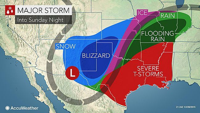 A Significant Outbreak Of Tornadoes Is Expected Across The - Us severe weather alert and tornado warning map