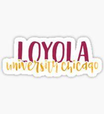 Loyola University Chicago - Style 1 Sticker