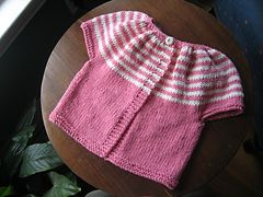 Ravelry: Striped Smock Top pattern by Erika Flory free pattern