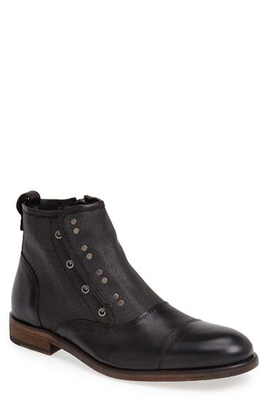 John Varvatos Star USA 'NYC' Zip Boot (Men) available at #Nordstrom