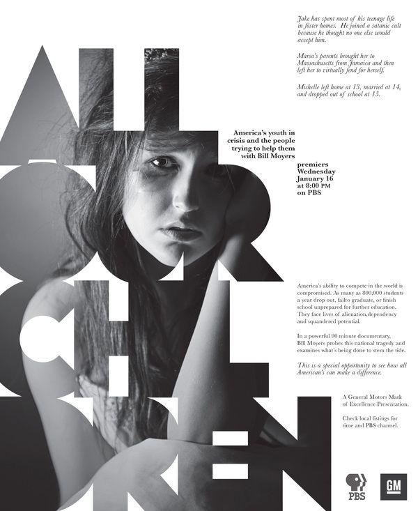 All Our Children by Amy Schluckebier, via Behance