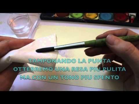 TUTORIAL - Le basi dell'acquerello - YouTube