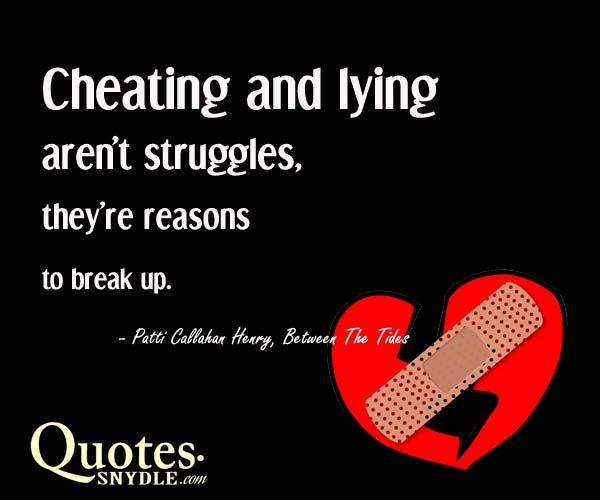 cheating love quotes and sayings - photo #23