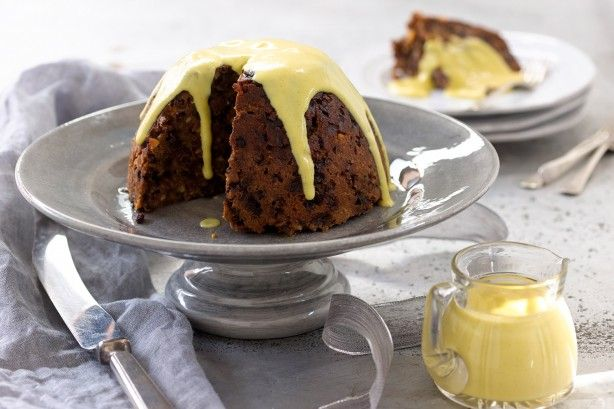 As they say the proof is in the pudding and Curtis Stone's Christmas pudding with brandy custard sauce is sure to be a winner with your family.