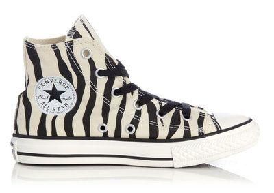 Converse All stars zebra