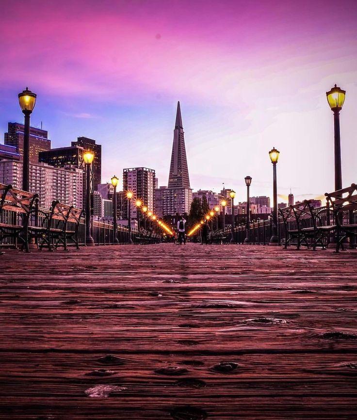 Take a walk on one of San Francisco's many piers. #sanfrancisco #sf #bayarea #alwayssf #goldengatebridge #goldengate #alcatraz #california