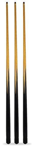 IQ Pool 3 trade 4ft ,48 inches pool snooker cues, 10mm screw on tips 3 trade quality standard pub cues